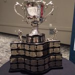 It really is a nice trophy! Cant wait for the Memorial Cup to start. #GoRebels https://t.co/NtO3aqqseA