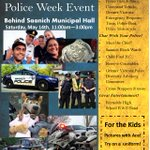 Youre invited! Please come to our @SaanichPolice community welcome day for Police Week: May 14, 11-3 #saanich #yyj https://t.co/vwJ9SCt8M1