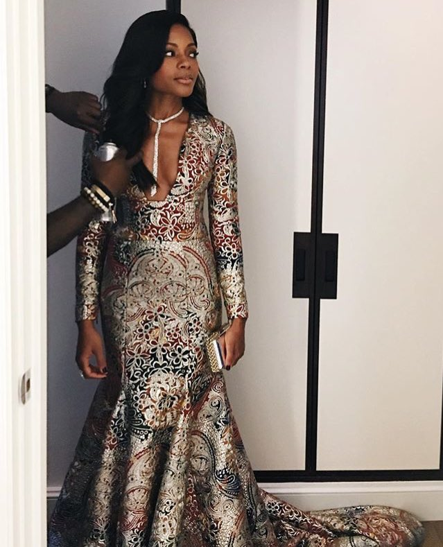 Naomie Harris in @Burberry though