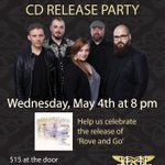 #roveandgo2016 Album release party! This Wednesday, May 4th @thetrapandgill in #yeg Bands on at 8pm! #yegmusic https://t.co/0mTwYfZANE