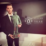 Is a big honour, its amazing be named #MUFCPOTY three times in a row! 🏆🏆🏆 Thanks a lot to everyone again! https://t.co/Ynt7arK7WP