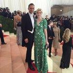 Tom Hiddleston and Elizabeth Debecki at the #MetGala. Via MetMuseum Instagram. https://t.co/2nCWXw68gq