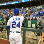 Pregame autographs from @C24Colon ???? #ForeverRoyal https://t.co/WDM7GrHYtc