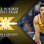 The Male Rookie of the Year award goes to... @jkarstadt! #GoldenGoldys https://t.co/sXtliruLPR