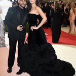 So @theweeknd and @bellahadid are totally couple goals tonight! #MetGala https://t.co/Oo2Uhi6j9L