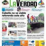 Primera Página de hoy 3 de mayo del 2016 #LaVerdadDeMonagas #Maturin #Monagas https://t.co/BUD6AtPPvS #felizmartes @dguatarasma