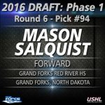#ForceHockey welcomes @msalquist_5! Round 6 pick 94 overall. North Dakota kid from Red River HS in Grand Forks, ND. https://t.co/NCPlsWyBk0