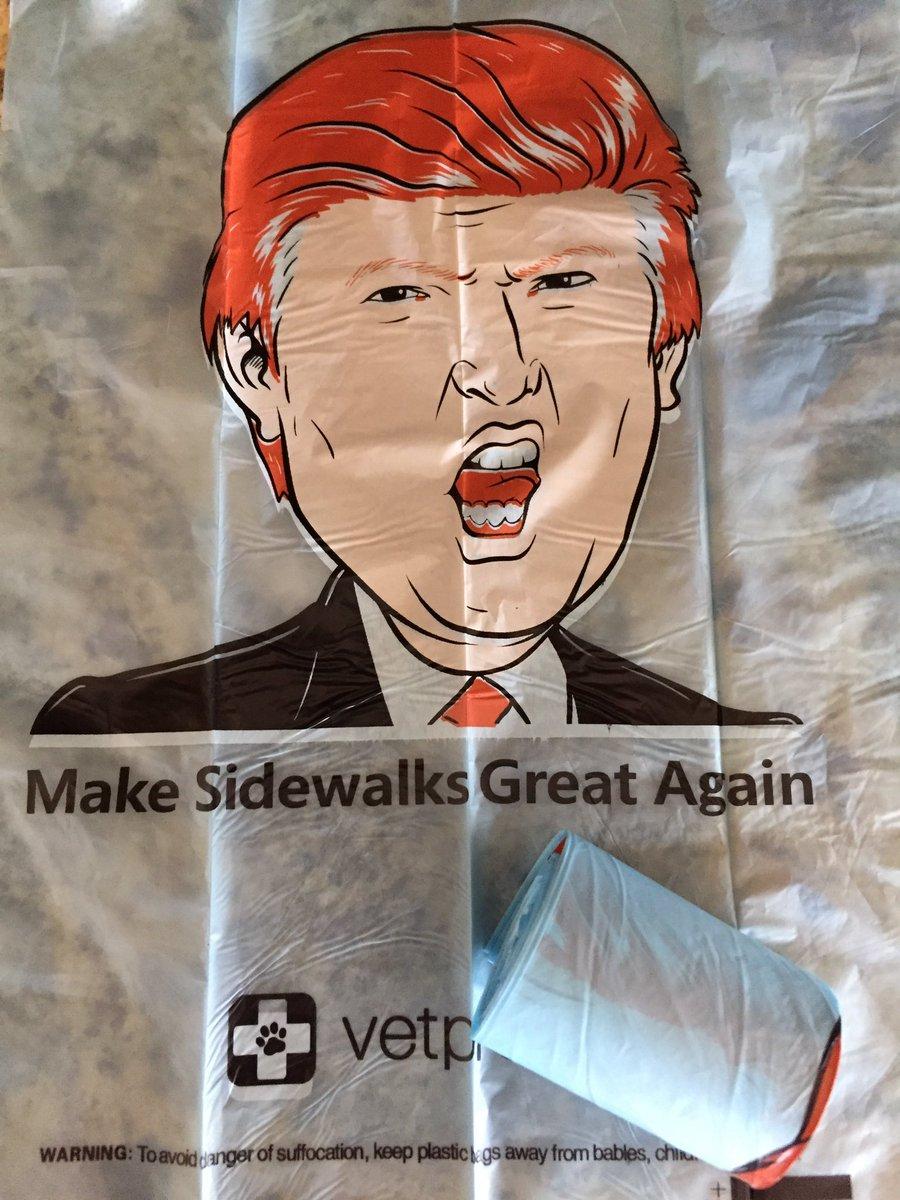 Dog poo bags courtesy of @VetPronto. https://t.co/3jrjv4SVm7