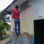 Gob @yelitzePSUV_ trabajamos en la culminación de los Baños de la Esc. Jose Tadeo Monagas en Amana https://t.co/vvNFfgJrsA