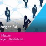 Bekijk deze #vacature: #Manager #RA bij We Matter in #Nijmegen #vacature https://t.co/geMRiBCdyp https://t.co/dQD5cIhPjI