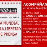 Buenos días, hoy es 3 de Mayo, Día Mundial de la #Libertaddeprensa https://t.co/fbeOpnx3Dx https://t.co/OluMdDrwMS