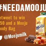 RT and follow @MoojuMilk for a chance to WIN €50 euro and a Mooju goody bag  #NeedAMooju https://t.co/s44lFcqM3E