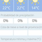 Hoy tendremos un día soleado, con temperaturas máximas que rondarán los 23-24° #FelizMartes https://t.co/eTNgTuJEA7 https://t.co/8Bc56aPoZa