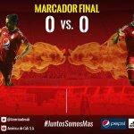 T 93 Bar 0x0 Ame Finalizó el juego en el Metropolitano con marcador igual a cero. #VamosAmerica https://t.co/oovqsAiwKQ