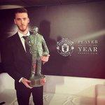 Sir Matt Busby Player of the Year: 13/14 - David de Gea 14/15 - David de Gea 15/16 - David de Gea #mufcpoty #mufc https://t.co/8HXf6pTaRU