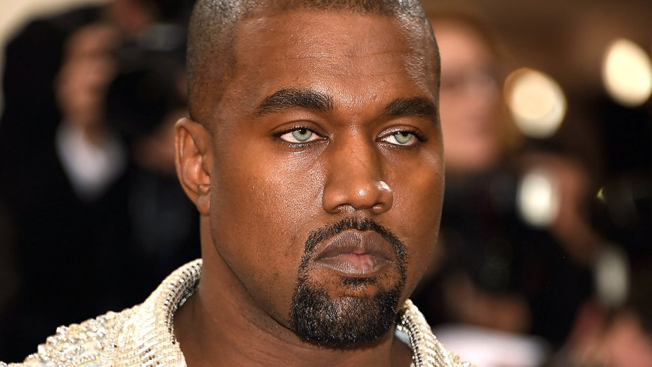 When asked about his MetGala blue eyes, Kanye West responds with one word: