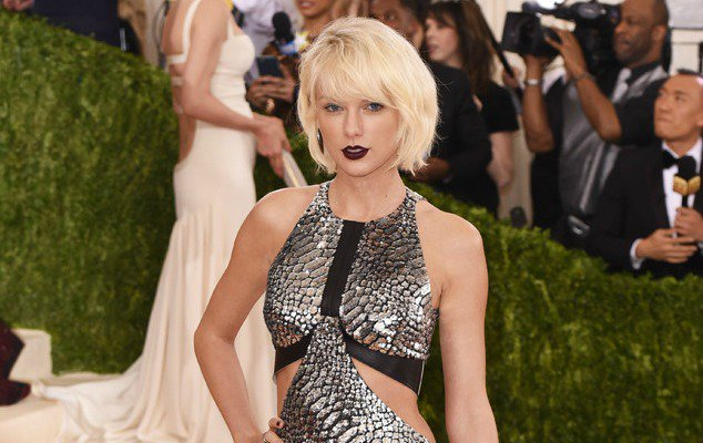 Taylor Swift brings metallic magic to the MetGala 2016 red carpet: