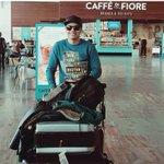 #إيهاب_أمير من #برشلونة وهذا ماقاله عند وصوله إلى المطار وصلت الحمدلله لـ #برشلونه حبيبي برشلوني https://t.co/9VJw8CbhSR