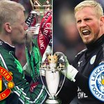 May 2nd 1993 | May 2nd 2016: Peter/Kasper Schmeichel win their first Premier League titles, at the age of 29. https://t.co/8i1iqsASQL