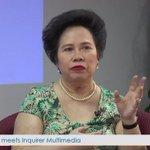 Santiago (@senmiriam): PH not ready for a Duterte presidency https://t.co/DNeqUujpz5   @NCorralesINQ #VotePH2016 https://t.co/OOPrAulE1n