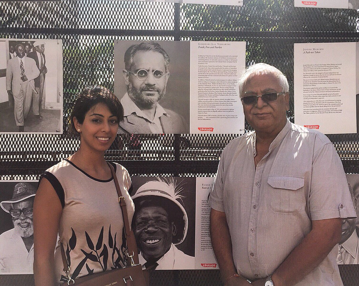 My dad & I proud to see my grandfather recognized for tirelessly fighting for press freedom. #WorldPressFreedomDay https://t.co/eGJsu8wwQg