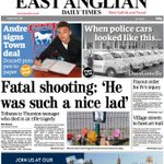 Todays #Suffolk @EADT24: Tributes to teen after shooting tragedy, @ArtforCure at @GlemhamHall report & #itfc boost. https://t.co/fMMReUUUgn