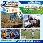 En 2015 invertimos Bs. 956 millones en una ciudad +Limpia #Maturín #InformeDeGestión #Monagas #Venezuela #Vzla https://t.co/MnNoYcIPDf