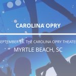 Ready to rock Myrtle Beach? Carolina Opry at The Carolina Opry Theater on Sep 24, 26, 28-29! https://t.co/ddHbladqTM https://t.co/XjmBDecfS1