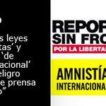 3 de mayo, Día Mundial de la #LibertadDePrensa , @RSF_ES y @amnistaespana : https://t.co/5s7dRe15zE https://t.co/HdfyfOJkZP