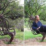 Gavin Munro นักออกแบบชาวอังกฤษ คิดค้นการทำเฟอร์นิเจอร์โดยการปลูกต้นไม้และดัดให้เป็นเฟอร์นิเจอร์รูปร่างต่าง ๆ https://t.co/caMwD6o0x2