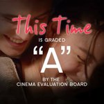 Another GOOD NEWS! This Time is Graded A by the Cinema Evaluation Board. #ThisTimePremiereNight https://t.co/gNpVZzymuv
