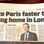 """Plane travels faster than train"" SHOCKER. Utter bollocks irrelevance today from the Zac Goldsmith campaign team https://t.co/39jXuRNEmT"