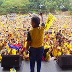 This crowd is solid for Roxas! #WeAreForMar https://t.co/gaiuGNRcLi