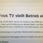 ServusTV stellt Betrieb ein... ???? https://t.co/BRamLBzwea