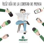 ¡Feliz Día de la Libertad de Prensa! #LibertadDePrensa #DiaLibertadPrensa #FelizMartes https://t.co/3x3qNYNeZr