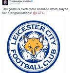"""Trabzonspor: """"Oyun, adil oynandığında çok daha güzel. Tebrikler Leicester City."""" https://t.co/sRs5BLu3SC"""