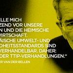 #TTIP-Leaks hat einmal mehr gezeigt: Nein zu #TTIP! #VanderBellen https://t.co/jA04wy8adT