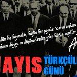 #3Mayıs Türkçüler Günümüz Kutlu Olsun! https://t.co/24gg0bTYyg