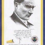 Ulu önderimiz Mustafa Kemal Atatürkün ziyaret edip, övgü dolu sözler sarf ettiği tek kulüp Fenerbahçedir! #3Mayıs https://t.co/jw24Js4Vw7