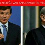 """AKPde yeni slogan: """"Ahmetin yedeği var ama Devletin yok"""" M.Akşener korkusu bütün AKPyi sarmış. #DirenDavutoğlu https://t.co/JuwEpf5px1"""