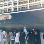 طلاب الإرشاد السياحي بكلية عمان للسياحة يتعرفون على البرامج السياحية المقدمة للسفن السياحية في ميناء السلطان قابوس. https://t.co/qkK8wNDYMj