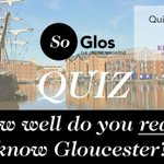 Are you a local loser or a #Gloucester guru? See how much you know in SoGloss fun quiz. https://t.co/j0togipmy6 https://t.co/7CfCIb4e3D
