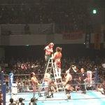 本日の新日本プロレス・福岡大会の速報! ついに、ケニー選手、棚橋選手のIWGPインターコンチが決定!!ぜよ! #njpw #njdontaku https://t.co/0pxJSCYyJz