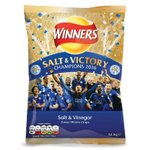 .@walkers_crisps produce limited edition Salt & Victory packs to mark @LCFC Premier League title win! #champions https://t.co/bI8vdOCgUI