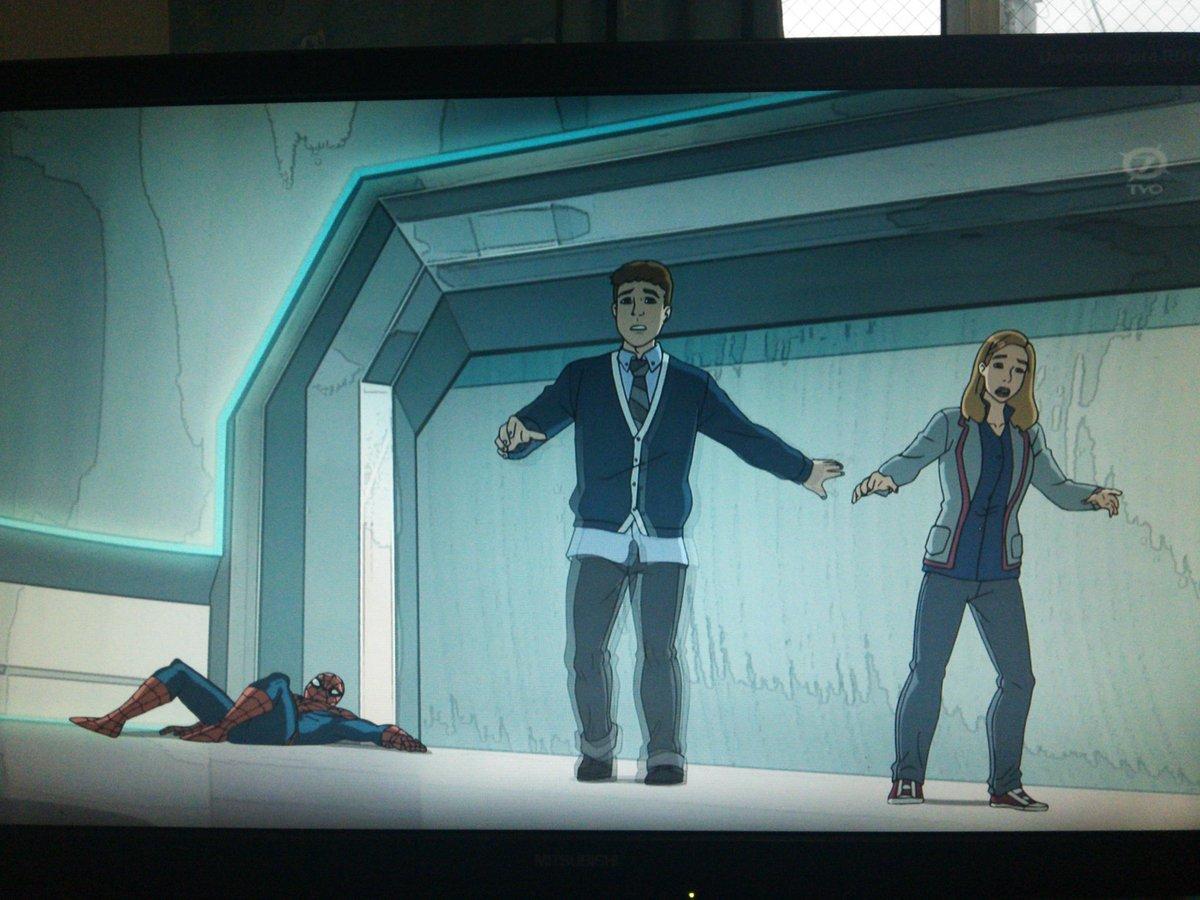 #エージェントオブシールド のフィッツとシモンズきたああああ!吹替声優もそのまんまw#アルティメットスパイダーマン