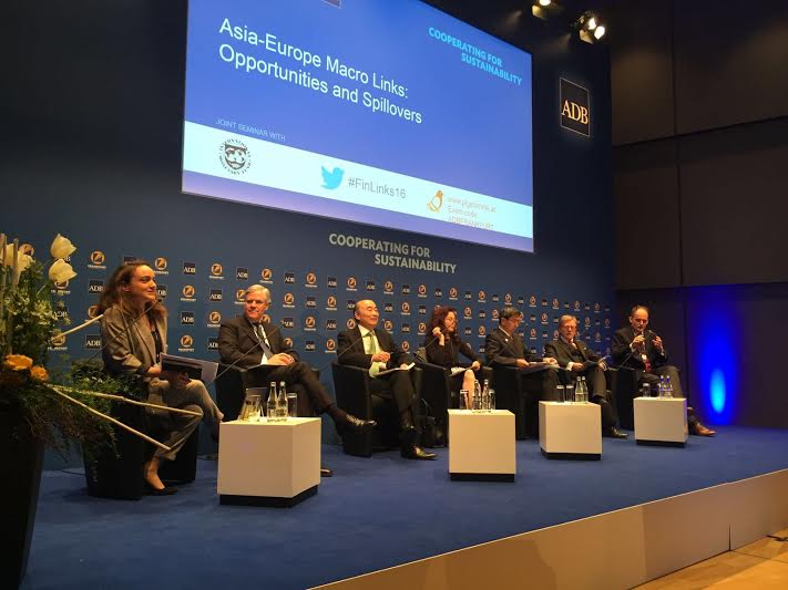 LIVESTREAM: Asia-Europe Macro Links: Opportunities and Spillovers @ADB_HQ #ADBFrankfurt https://t.co/XQGQY6voGs https://t.co/qriAgqmghR