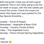 Its going to be a good week ???? #Cheltenham #applebar #soup https://t.co/lQB6gXfXHE