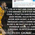 André-Pierre Gignac répond à Jean-Michel Aulas dans @francefootball. https://t.co/7YxtOIlVQr