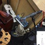 Recording with legendary Al Schmitt & @WDR_Big_Band this week. #Neumann M149 tube & #Schoeps MK41 #Microphones https://t.co/37cZ6q5cAi