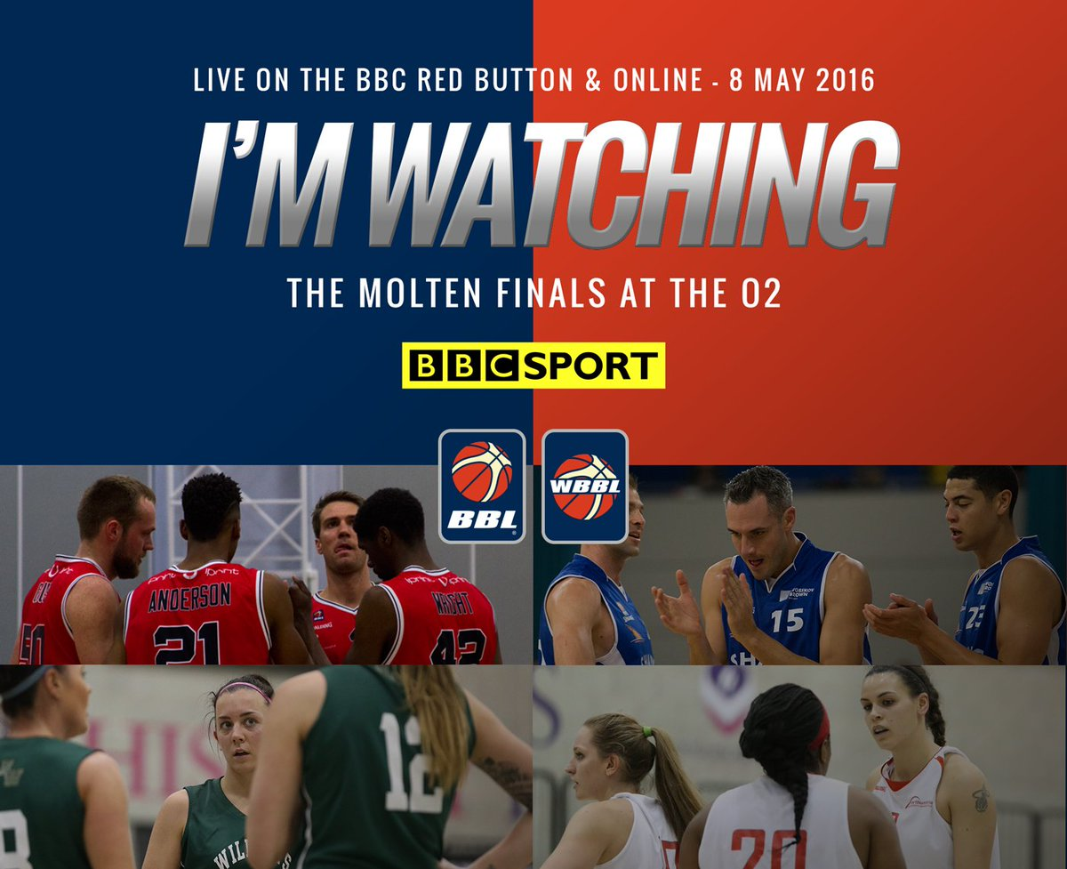 The #MoltenFinals will be broadcast LIVE via @BBCSport online and the